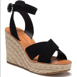 Dolce Vita Pami Cross Band Espadrille Wedge Sandal